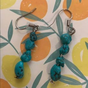 Jewelry - Turquoise earrings 💙